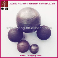 HRC45-65 Chrome iron ore mill grinding ball