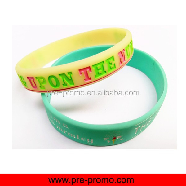 Adjustable Promotion Adult Custom Silicone Wristbands