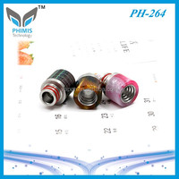new arrived wooden 510 drip tips 316 stainless steel stabilized wood drip tip
