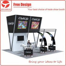Yota China Aluminum 3x6 or 6x6 Standard Portable Exhibition Booth Stand