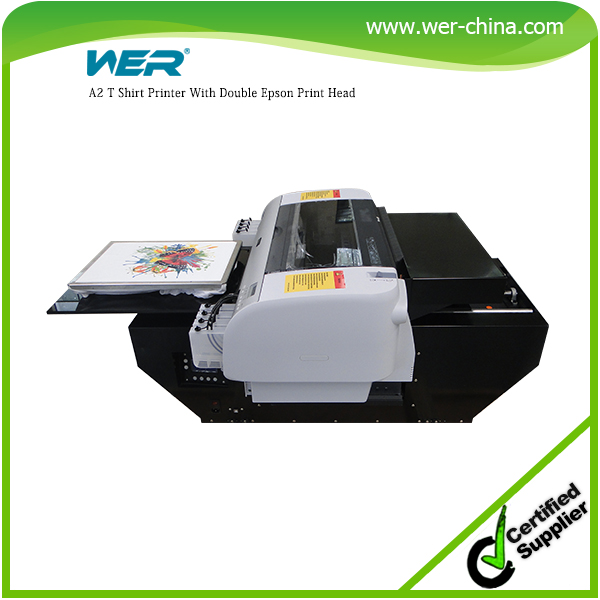 Perfect design A2 420*900mm WER-D4880T dtg printer,digital t shirt printing machine prices