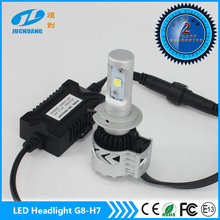 Perfect lighting h7 auto led headlight G8 all in one h7 led headlight motorcycle led headlight kit