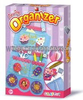 DIY kit toy sewing organizer Blue