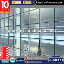 Visible aluminum frame glass curtain wall/structural curtain wall/spider curtain wall