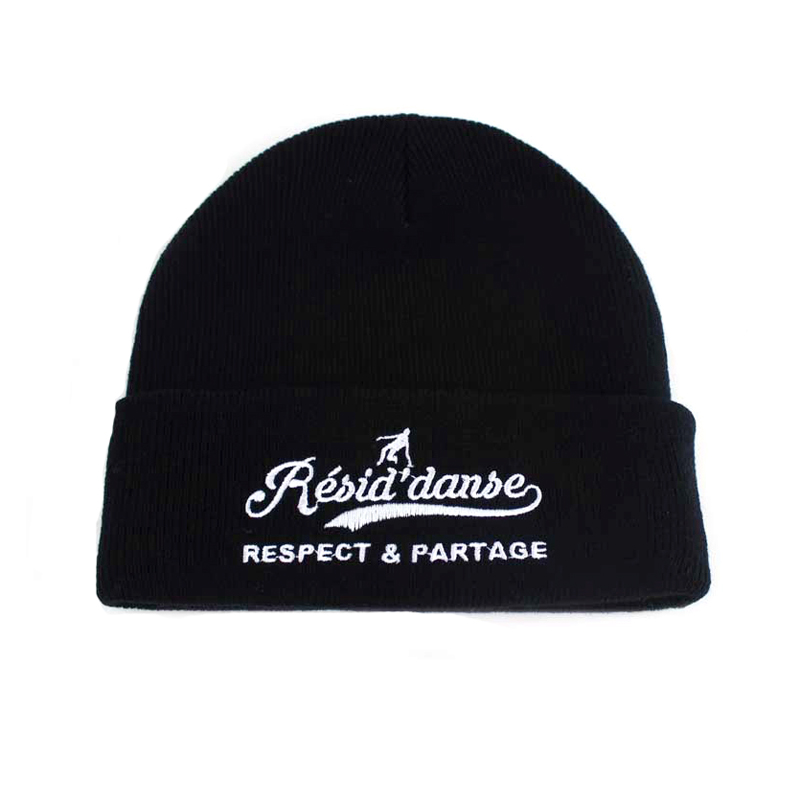 High quality small order custom sport beanie