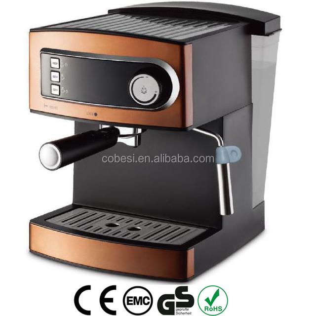 cheapest Domestic 1.6L 15 bar ULKA Italy pump detachable water tank coffee machine espresso