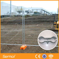 PVC Coated Temporary Construction Fence For Dogs