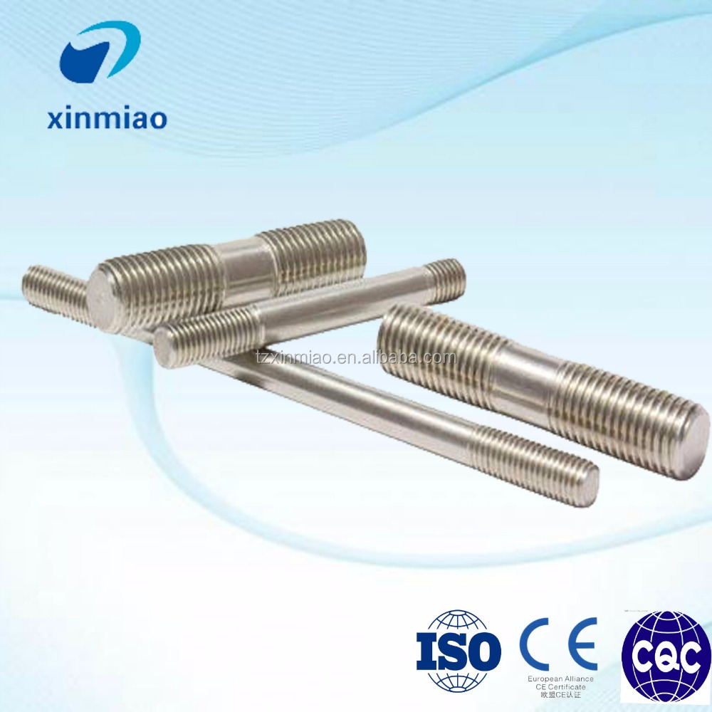 made in Xinmiao GB901/T scewd stud bolt for pipe flange connection