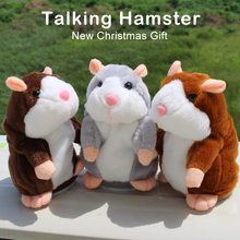 New Christmas gift Plush talking hamster stuffed animals toy custom plush toy