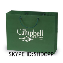 shanghai fashionable high quality cheaper kraft paper shopping bags with logo printing