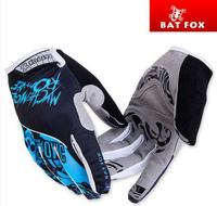 Bat Fox FOX-2210 Running Sports Men Red Blue Green Racing Motor Cycling Gloves Full Finger