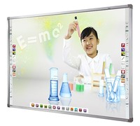 4 point touch Interactive whiteboard with amplifier speakers