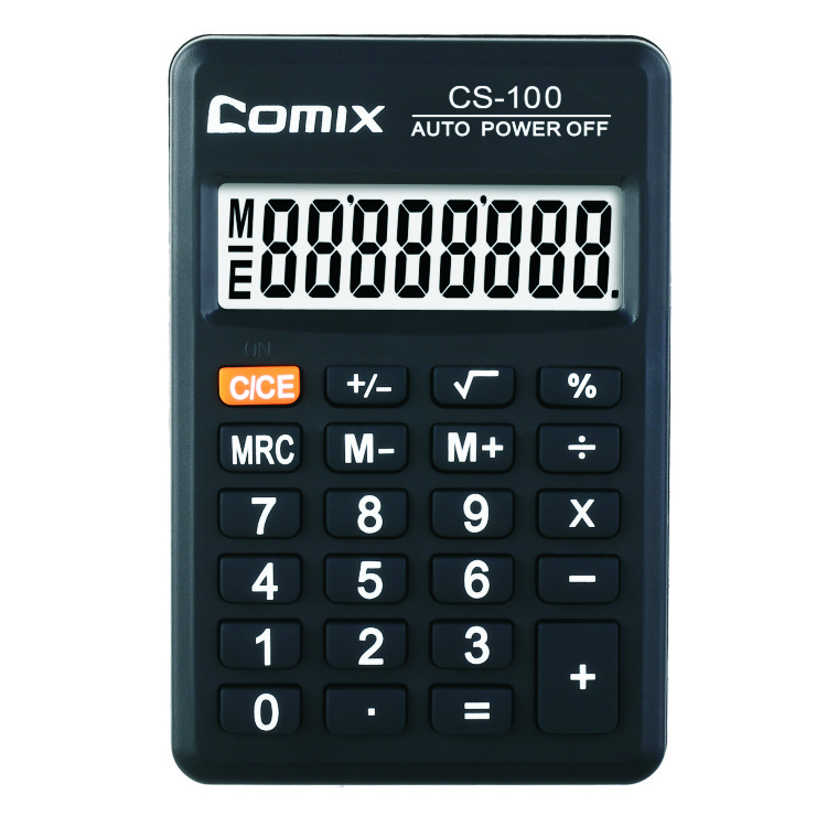 Pocket calculator 8 digit