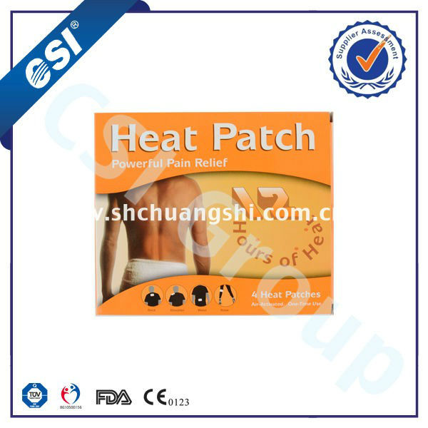 knee rehabilitation equipment /heat patch