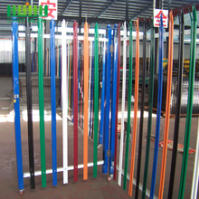 Factory Multiple Color Powder Coated Steel Palisade Fence for Sale