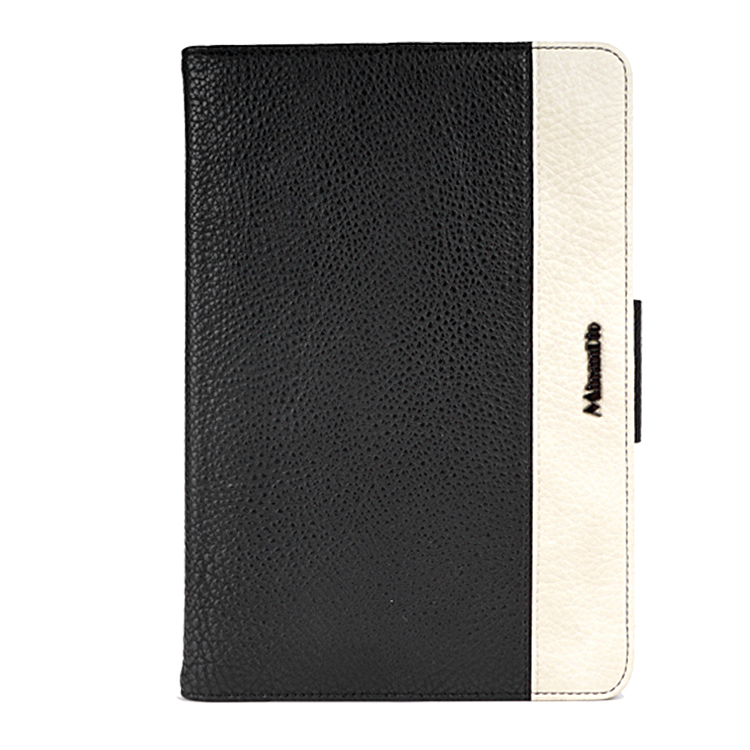High quality PU leather material+PC hard tablet cover case for ipad 9.6 inch stand function