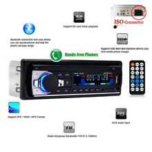 Car Radio audio 1 Din jsd-520 auto radios Bluetooth In-dash universal wireless fm broadcast transmitter for radio stations