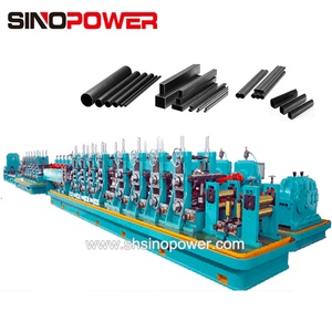 High speed Dia 16-63 x 0.6-2 mm steel sheet High frequency pipe welding machine supplier tube rolling machine