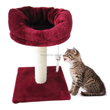Good quality new coming cat climbing scratcher tree corrugated cardboard cat toys