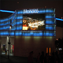 12 square meters Digital advertising full color pixel pitch 16mm outdoor led display