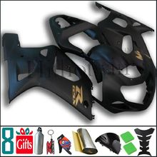 K1 2001 2002 2003 GSXR600 GSXR750 2001 2002 2003 all Matte Black GSXR Body Fairing Kit For Suzuki GSXR600 GSXR750 2001 2002 2003