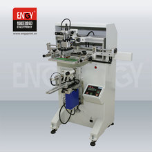 Manual Automatic Stop Cylinder Screen Printing machine
