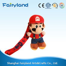 2016 customized OEM design cute Super Mario plush toy
