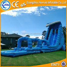 Commercial giant inflatable water slide trippo slide for sale