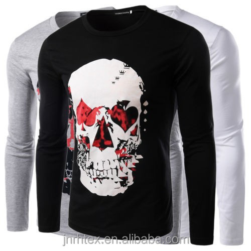 Cotton custom screen printing t shirt for men