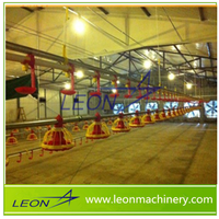 LEON Brand poultry equipment for Broilers and Chickens