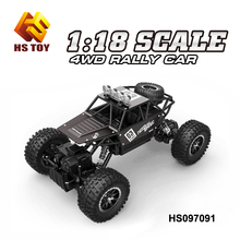 2.4G Hz RC Alloy High Speed Monster Truck 1/18 Scale Rock Crawler Car Use Rechargeble Battery