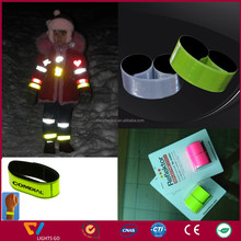 Reflective Safety Kit with Reflective Vest/ Reflective Stickers/ Slap Band/Pendant