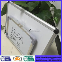 Portable white board prices with clip
