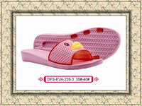 2015 new product ladies casual slippers