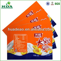 shrink plastic yogurt tubes
