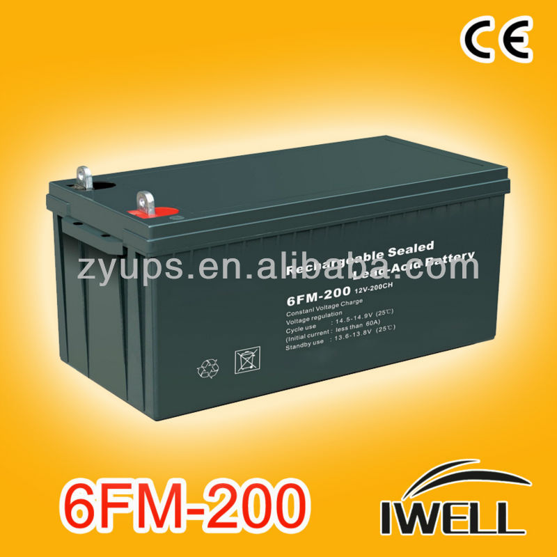 Deep Cycle Solar Inverter Battery 12v 200ah First Power Battery