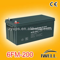 Deep Cycle Solar Inverter Battery 12v