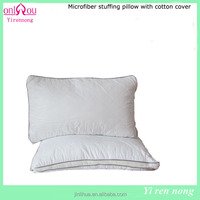 white microfiber pillow hotel supplier in China