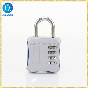 4 digital combination padlock Code GYM padlock