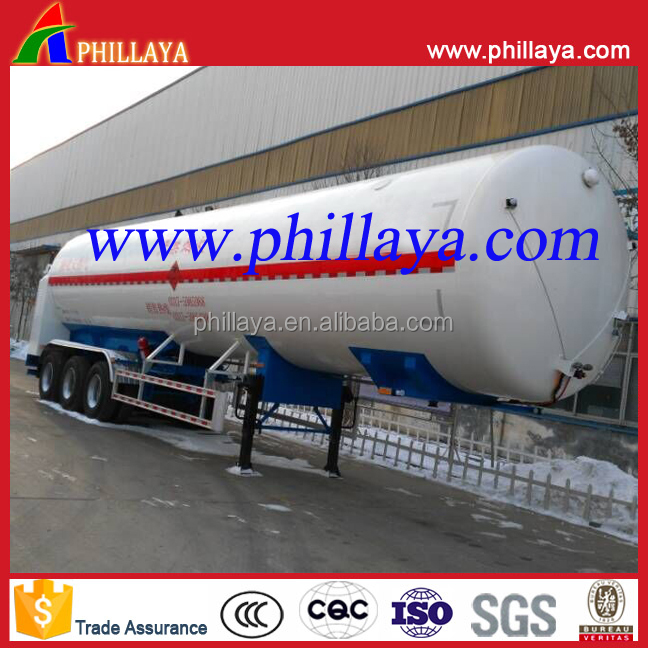 3 <strong>axles</strong> 12 <strong>WHEELS</strong> Tri <strong>axle</strong> Medium pressure Quality 56cbm 58.5 m3 lpg transport tank semi trailer