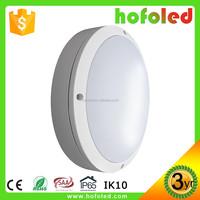Modern design outdoor led ip65 round wall light