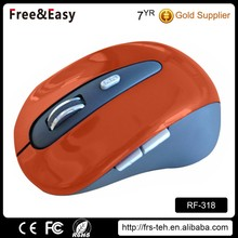 Hot sell 6D optical OEM cordless mini mouse for laptop