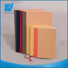 Superior quality side sewing kraft paper notebook