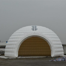 Attractive nice design inflatable luna tent white big air dome tent for commercial event