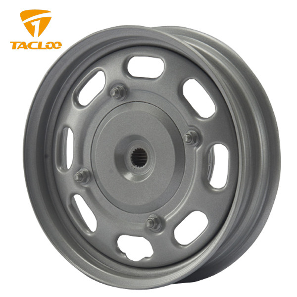 "2.15x10"" Front Steel Wheels for Motorcycles -8Holes Fission-GY6"
