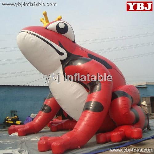inflatable Giant frog cartoon