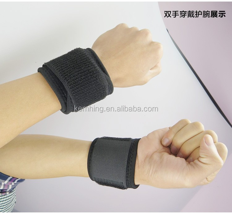 Adjustable sport Velcro hand wrist support brace wrist wraps