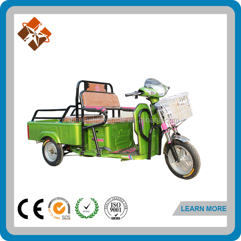 open body cargo electric cargo van smart trike
