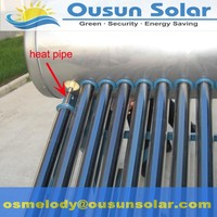Freestanding Integrated pressurized sunray solar water heater
