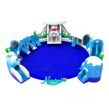 Floating Giant Slides Indoor Jumper Kids Octopus Pirate Rock Climbing Inflatable Water Ship Slide With Slide For Sale